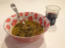 Lentil-Swiss Chard Soup With Lemon And Cilantro