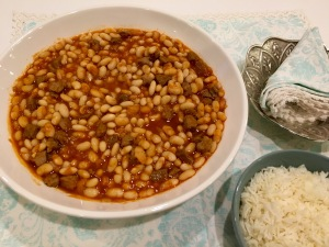 Cannellini Bean Stew With Lamb