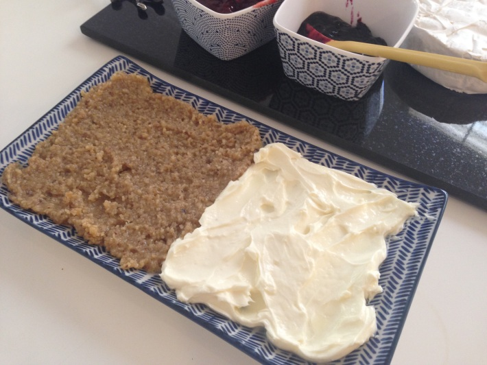 Walnut-Honey Spread with Kaymak (Clotted Cream)