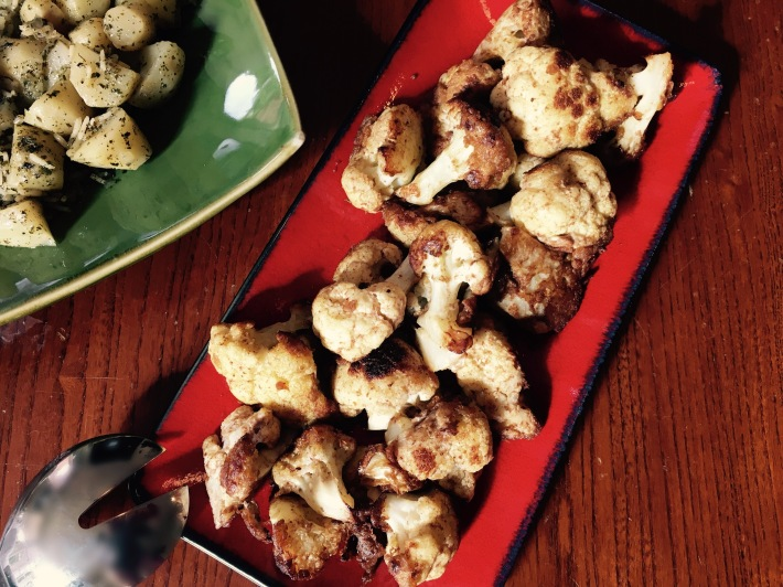 Cinnamon Fried Cauliflower