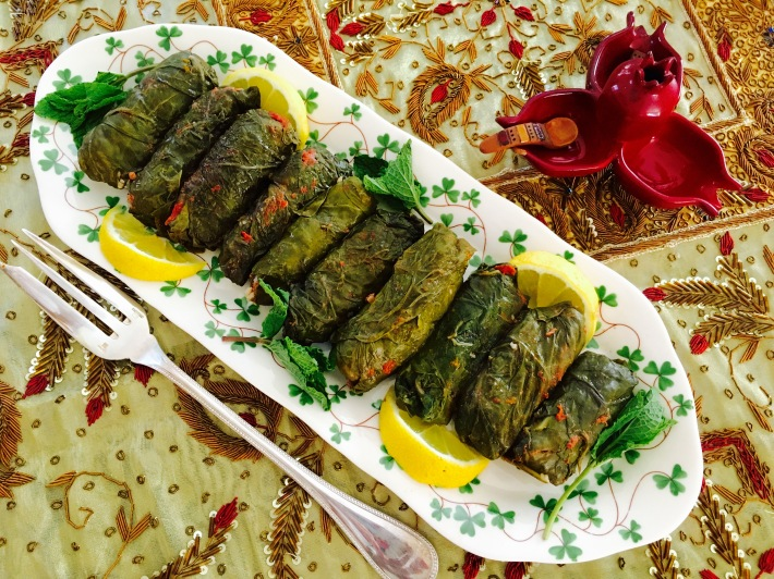 Dolma With Swiss Chard