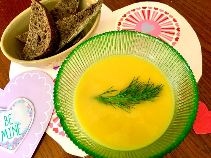 Easy Butternut Squash Soup with Ginger