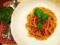 Spicy Harissa Tomato Carrot Pasta Sauce