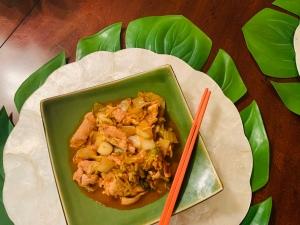 Kimchi Pork Stir-fry